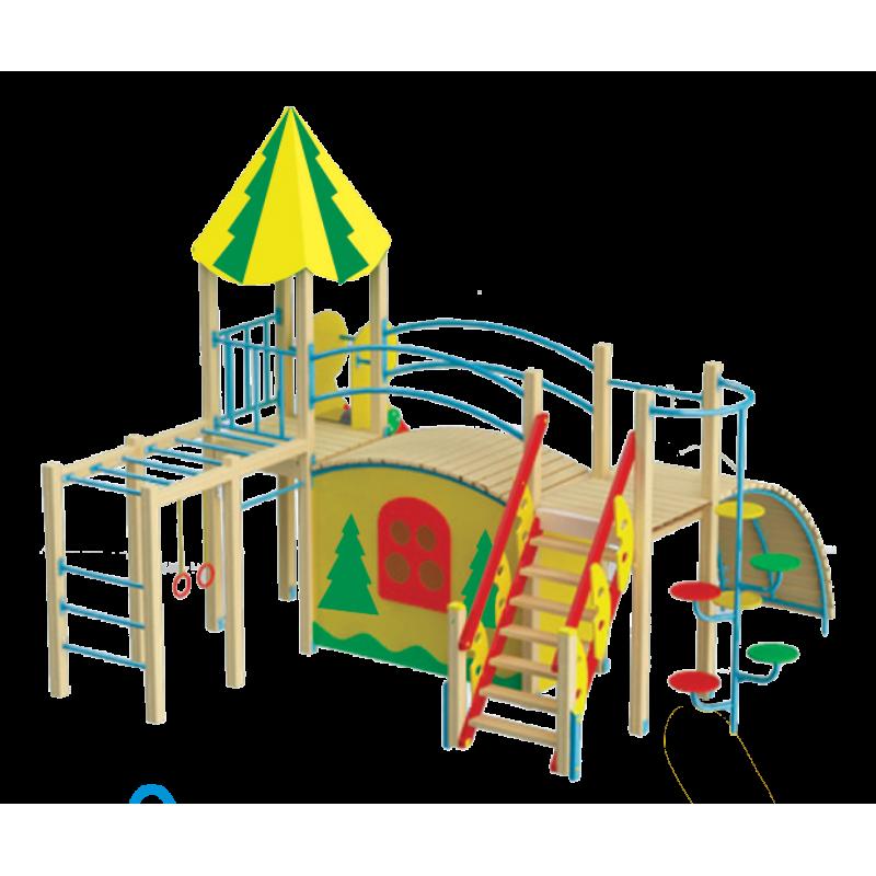 """Ігровий комплекс """"Лісовий будинок"""""""