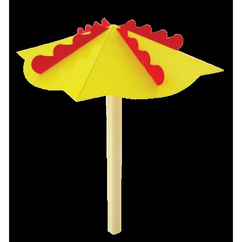 """Зонт деревянный """"Парасолька"""""""