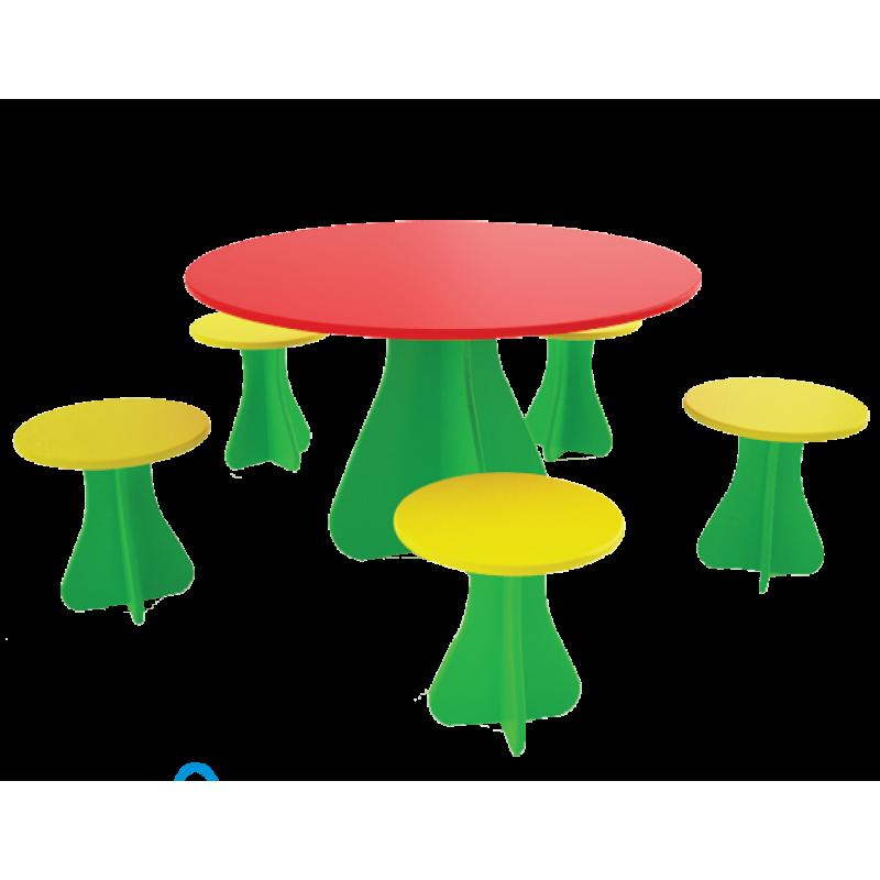 """Столик с стульчиками """"Поляна"""""""