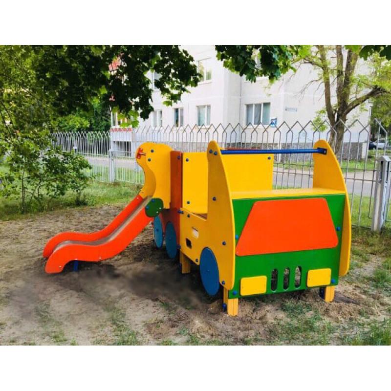 Встановлення дитячого ігрового майданчика Happyplay в м. Славутич