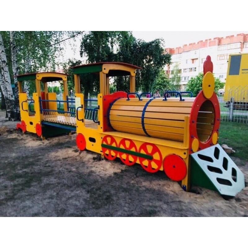 Ігровий дитячий майданчик від Happyplay радує діток у селі Германівка