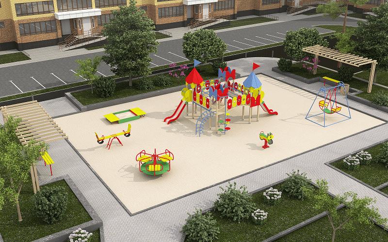 Ігрове обладнання для дитячих майданчиків