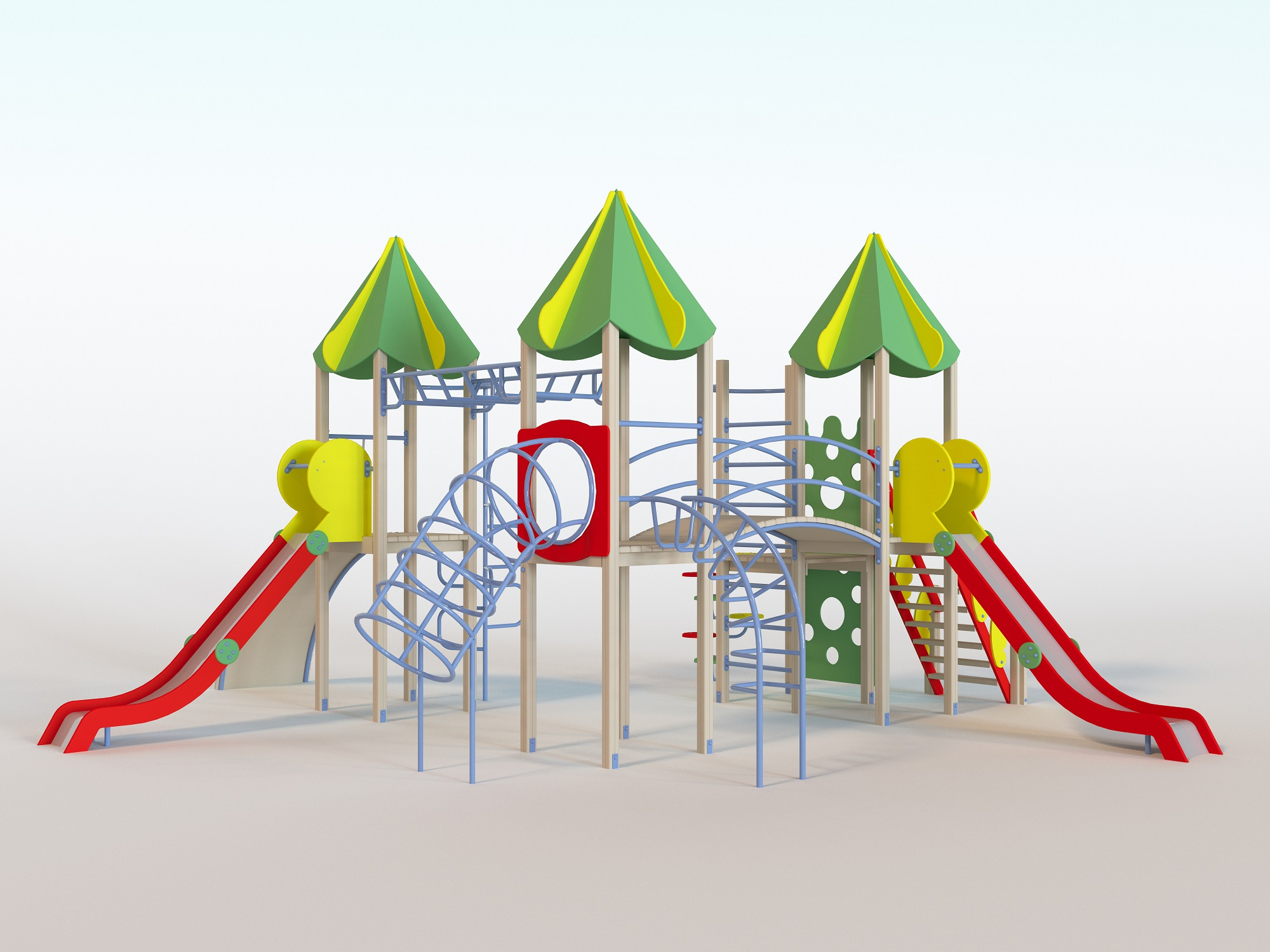 Детские <highlight>игровые комплексы Happyplay